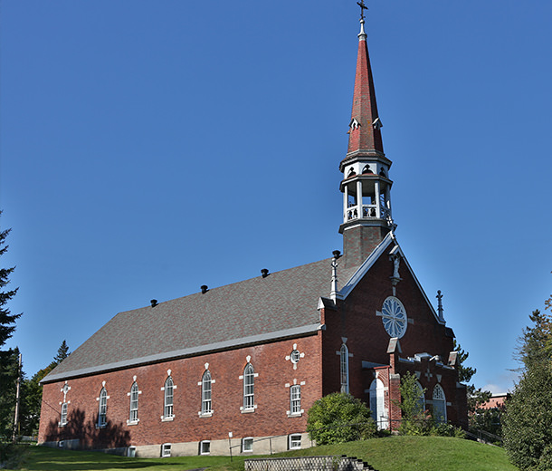 Photo de l'église catholique de Waterville Québec